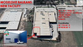 Modelsvit Balkans moves in a New facility