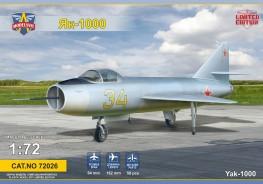 Yak-1000 Supersonic demonstrator